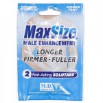 Max Size - 2 Pill Pack Sex Toy