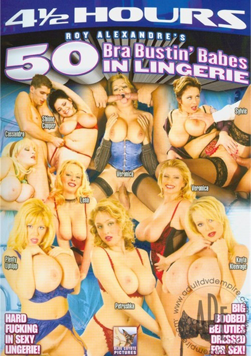 50 Bra Bustin' Babes In Lingerie. Avalon / Year: 2011. Adult DVDRental