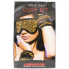 Liberator Black Label Starter Cuff Set - Leopard Sex Toy