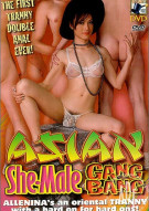 Asian She-Male Gangbang Porn Video