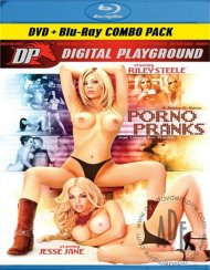 Porno Pranks (DVD + Blu-ray Combo) Blu-ray Box Cover Image