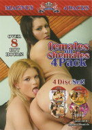 Females on Shemales 4-Pack Porn Movie