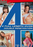 4 Full Length DVDs Vol. 3: Double Penetration Porn Movie